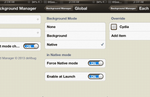 Background Manager – To Bring Real Multitasking On iPhone / iPad