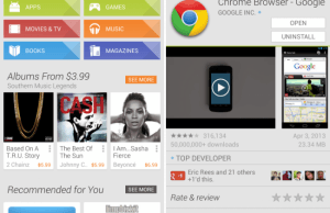 Google Play Store 4.1.6 Update Rolled Out Ahead Google I/O 2013