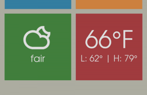 LS Square Lock Screen Theme Brings Metro UI To iPhone