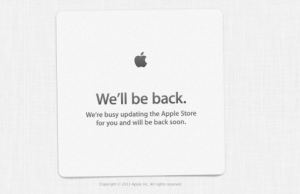 Apple Store Goes Down Ahead WWDC 2013 Keynote