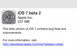 iOS 7 Beta 2 Download Links for iPhone / iPad / iPod Touch
