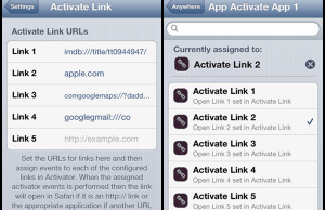 Activate Link Allow Users To Open URL's With Custom Gestures