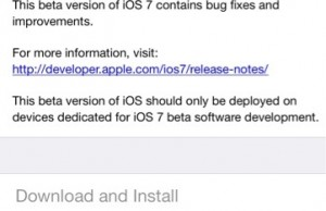 iOS 7 Beta 6 Download Goes Available As Critical Update