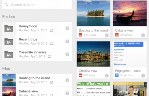 Google Drive for iOS Gets Major Revamped Look