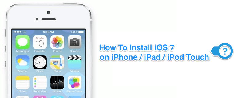How To Install iOS 7 On iPhone
