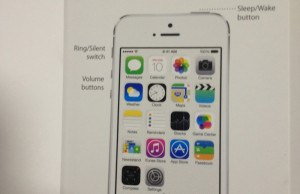 Leaked iPhone 5S User Guide Refers To Fingerprinting As Touch ID