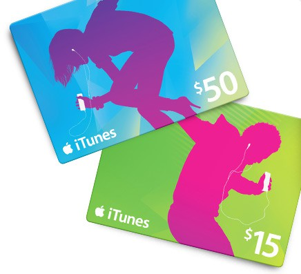 iTunes Gift Card iOS 7 how to