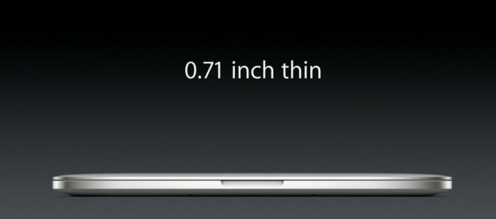 Retina MacBook Pro Thinner