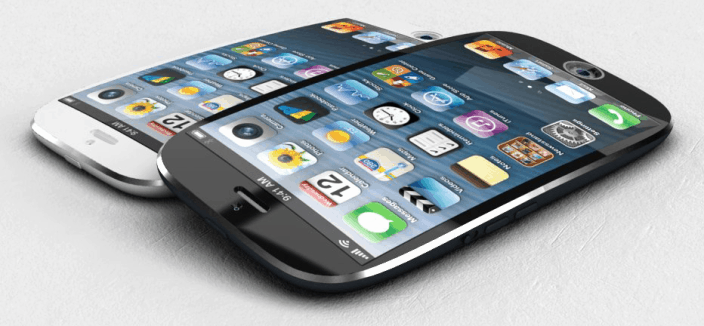 iPhone 6 curved screen concept