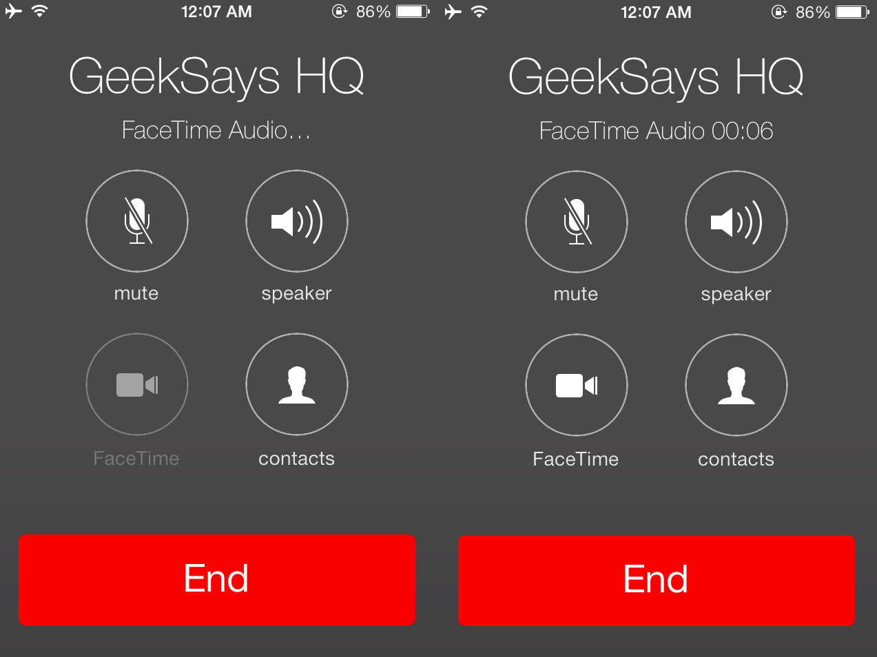 How To Make FaceTime Audio calls