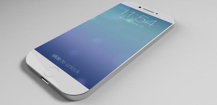 iPhone 6 white concept