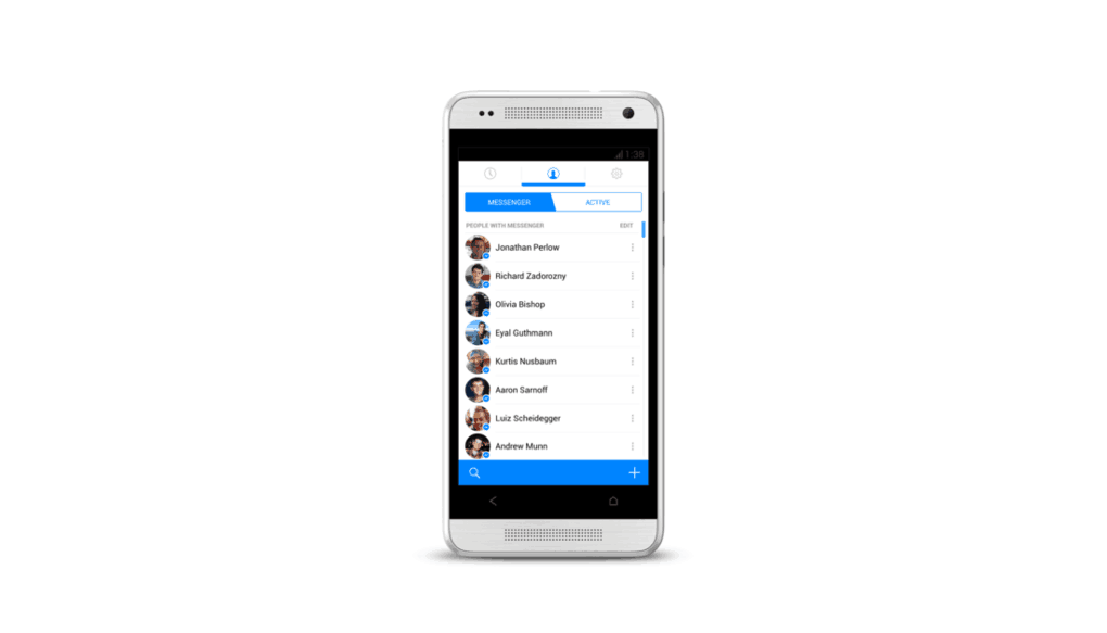 Facebook Messenger for iOS revamped