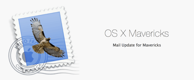 Mail Update for Mavericks