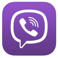 Viber 4.0 iOS logo