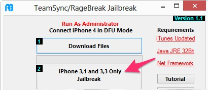 Jailbreak iOS 7 RageBreak