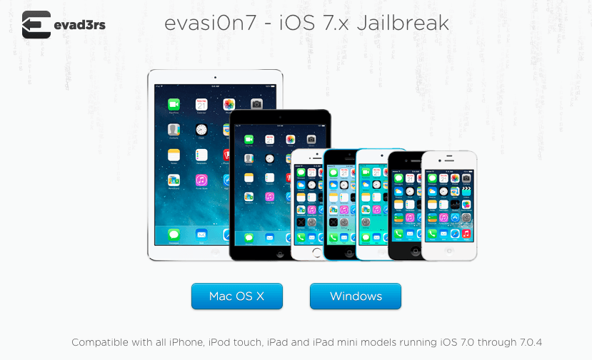 How to Jailbreak iOS 7 on WIndows