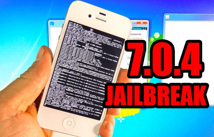 Tethered iOS 7.0.4 Jailbreak