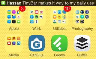 Tinybar cydia tweak