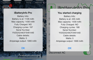 iBatteryInfoPro Brings Information About Your iPhone Battery on Screen