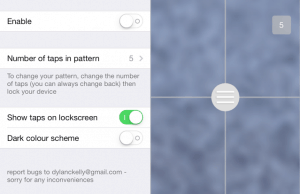 Unlockr Brings Attractive Tap Pattern Lock-Screen for iPhone