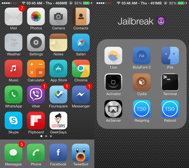 zanilla2 ios 7 theme