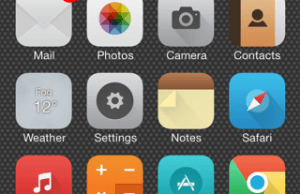 One of the Best Theme for iOS 7: Zanilla 2