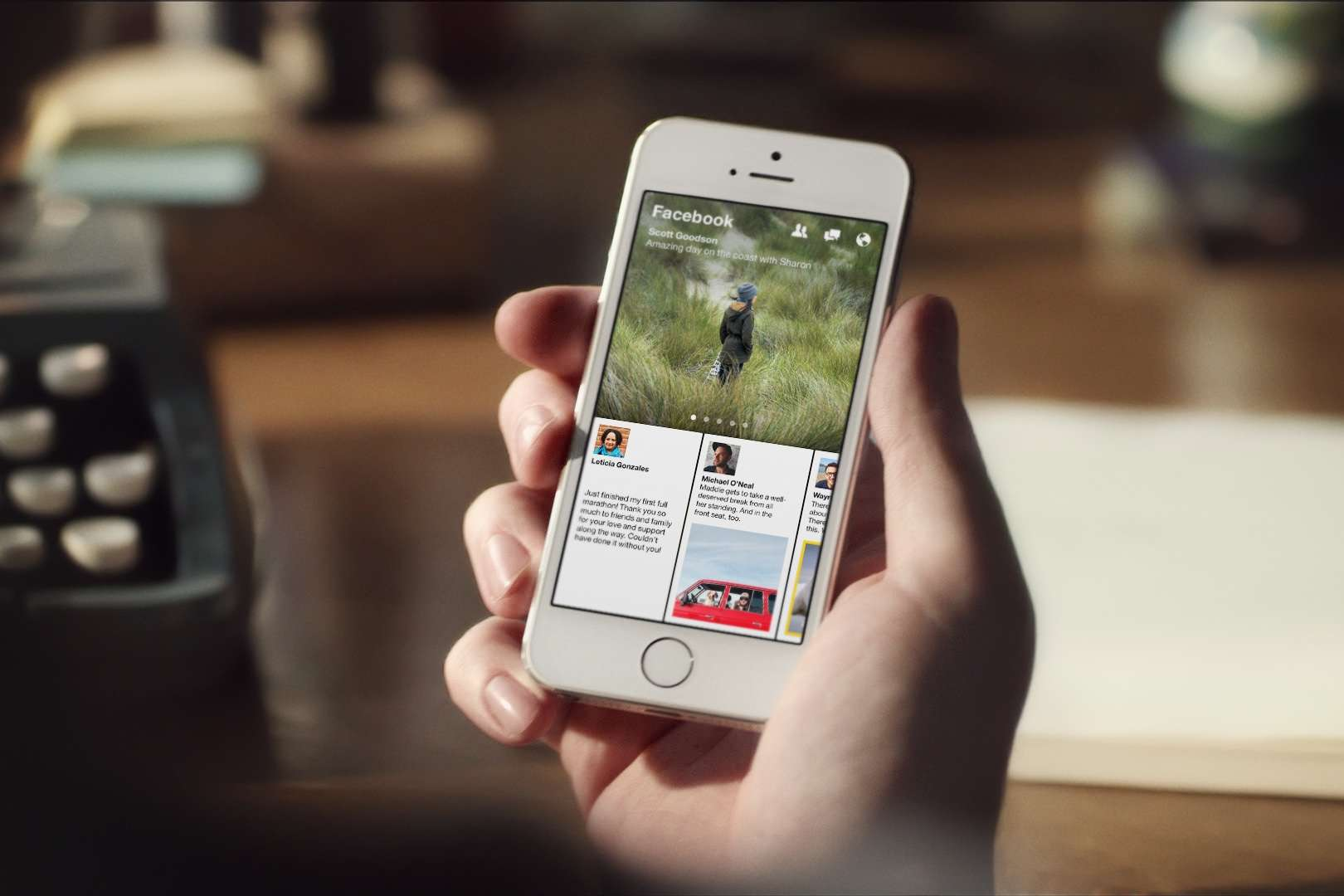 Facebook Paper app
