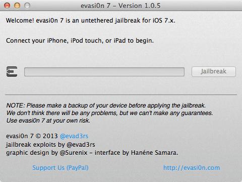 evasi0n7 v1.0.5 jailbreak