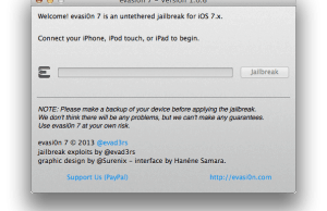 How To Perform iOS 7.0.6 Jailbreak with evasi0n7 v1.0.6