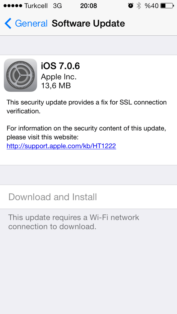 iOS 7.0.6 Download