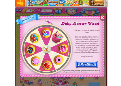 how to hit the jackpot on candy crush wheel