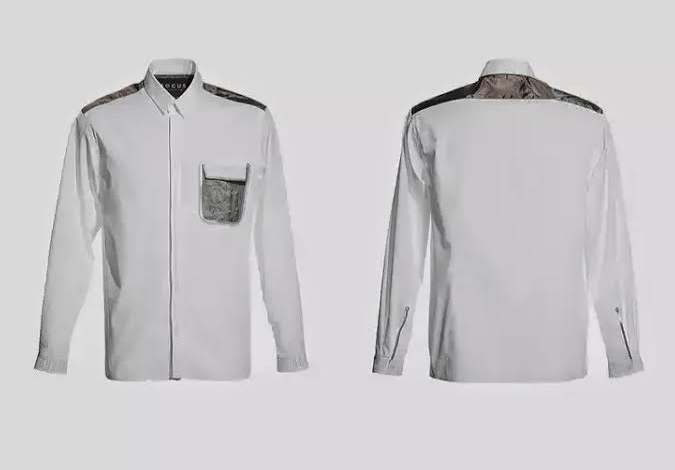 Smartphone curing shirt