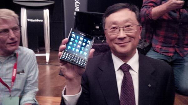 BlackBerry Passport leaked