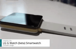 LG G Watch (Beta) Leaks in German Video