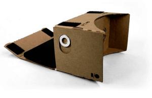 Cheap virtual reality – Google Cardboard
