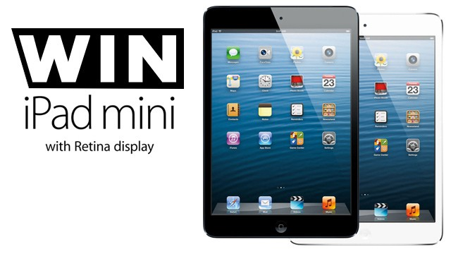 Win an iPad Mini Retina