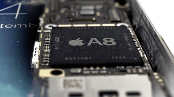 Apple A8 chip dual core