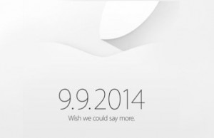 It's official. The iPhone 6 is coming on September 9th