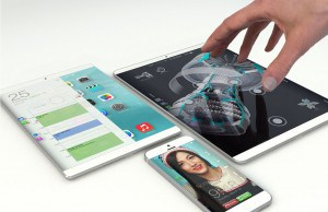 The display of the new iPad will have an anti-reflective coating