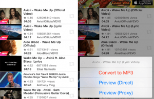 How to extract Audio from YouTube Videos and save it on iPhone