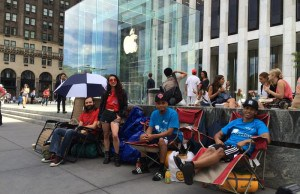 iPhone 6 fans are already setting up camp
