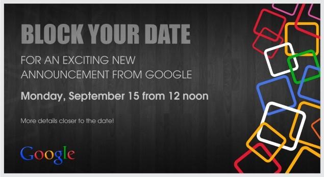 google invite press