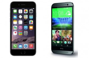 Clash of the Week: iPhone 6 vs. HTC One M8