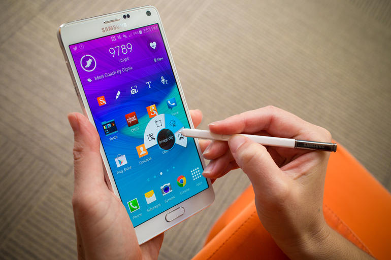 samsung galaxy note 4 android 4.4 kitkat