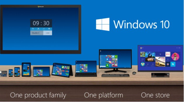 Windows 10 of Microsoft Corporation