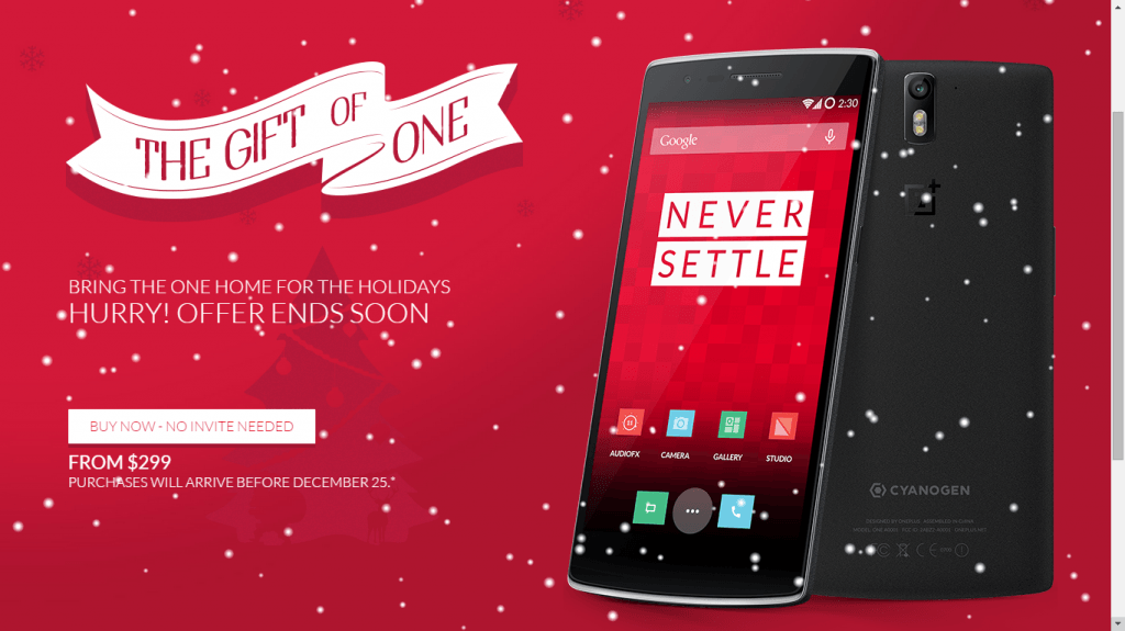 oneplus one no invite