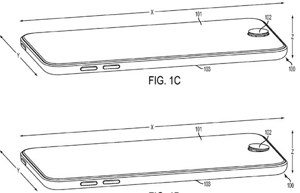 Apple's iPhone home button adds a joystick
