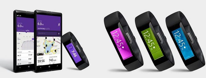 Microsoft Corporation's health band