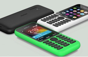 Microsoft Corporation launches Nokia 215 series at CES 2015