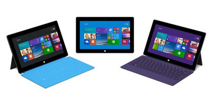 Surface 2 tablets running windows RT are out of stock